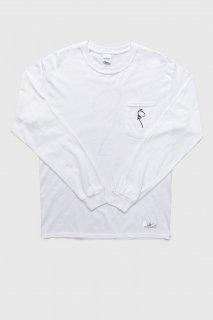 Print L/S Pocket T-Shirt