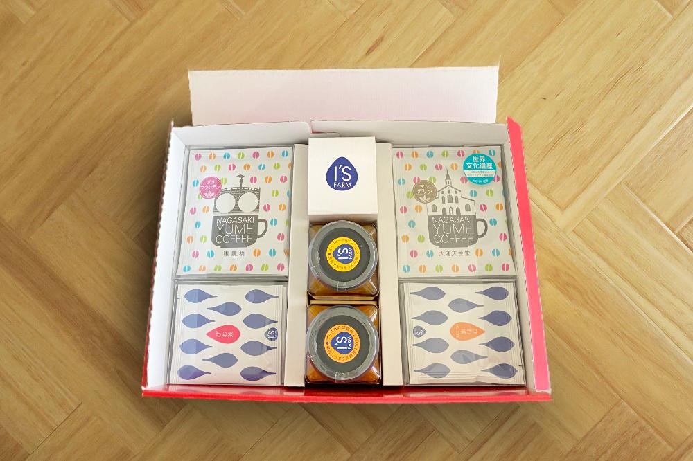 ジャムとびわ茶とコーヒーと、長崎からの贈り物 5,184円