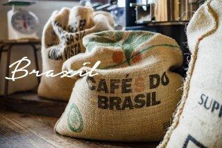 〔中深煎りコーヒー豆〕ブラジル 中深煎り 200グラム