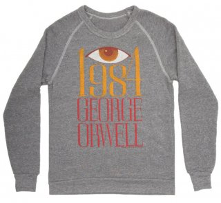 George Orwell / 1984 Sweatshirt (Heather Grey)