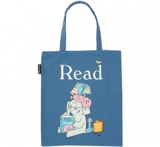 Mo Willems / Read with Elephant & Piggie, and The Pigeon Tote Bag