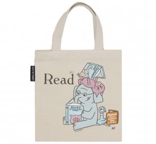 Mo Willems / Read with Elephant & Piggie, and The Pigeon Kids Tote Bag
