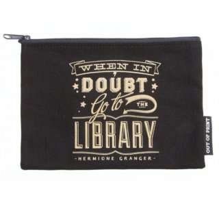 Hermione Granger / When in doubt, go to the library Pouch