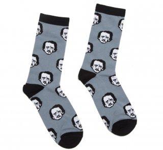 Edgar Allan Poe / Poe-ka Dots Socks