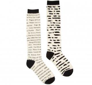 Banned Books Knee-High Socks