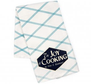 Irma S. Rombauer / The Joy of Cooking Tea Towel (White)<br>