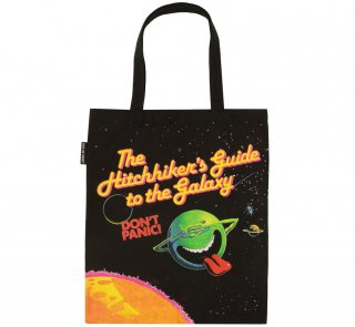 Douglas Adams / The Hitchhiker's Guide to the Galaxy Tote Bag