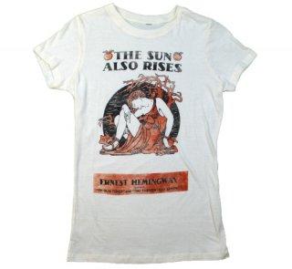 Ernest Hemingway / The Sun Also Rises Tee (Ivory) (Womens)