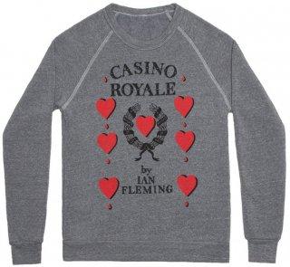 Ian Fleming / Casino Royale Sweatshirt (Grey)