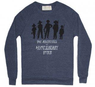 Mark Twain / Adventures of Huckleberry Finn Sweatshirt (Navy)