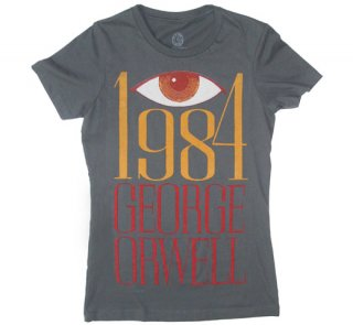 George Orwell / 1984 Tee (Heavy Metal) (Womens)