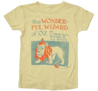 L. Frank Baum / The Wonderful Wizard of Oz Tee (Yellow) (Kids')