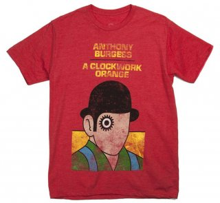 Anthony Burgess / A Clockwork Orange Tee (Red)