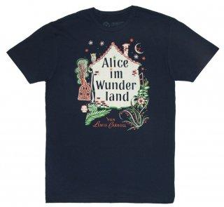 Lewis Carroll / Alice im Wunderland Tee (Midnight Navy)