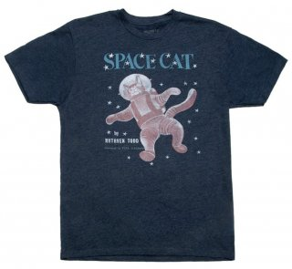 Ruthven Todd / Space Cat Tee (Midnight Navy)