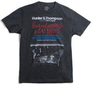 Hunter S. Thompson / Fear and Loathing in Las Vegas Tee (Black)