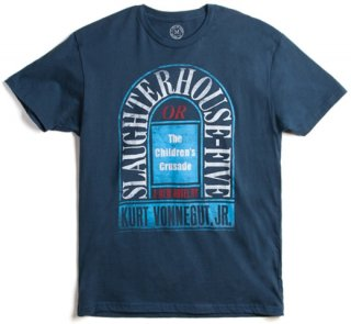 Kurt Vonnegut / Slaughterhouse-Five Tee (Indigo)