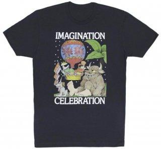 Maurice Sendak / IMAGINATION CELEBRATION Tee (Midnight Navy)