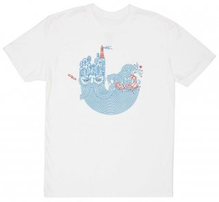 William Shakespeare / The Tempest Tee (White)<img class='new_mark_img2' src='https://img.shop-pro.jp/img/new/icons58.gif' style='border:none;display:inline;margin:0px;padding:0px;width:auto;' />