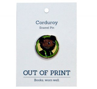 Don Freeman / Corduroy Enamel Pin