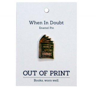 Hermione Granger / When in doubt, go to the library Enamel Pin