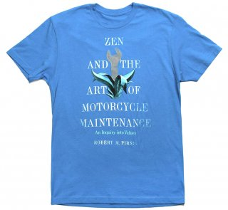 Robert M. Pirsig / Zen and the Art of Motorcycle Maintenance Tee (Turquoise)