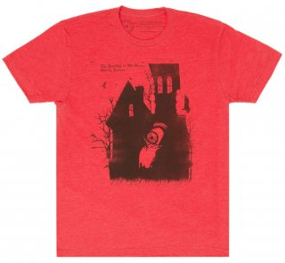 Shirley Jackson / The Haunting Of Hill House Tee [Penguin Horror] (Vintage Red)