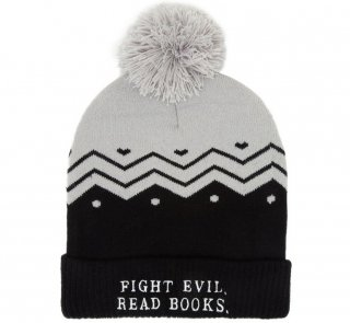 Fight Evil, Read Books Beanie