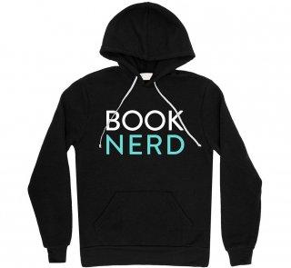 Book Nerd Hoodie (Black)