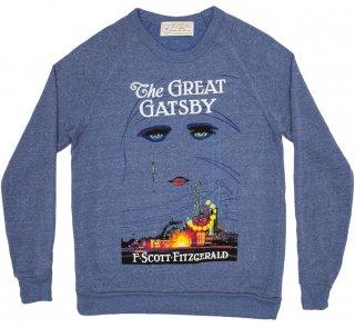 F. Scott Fitzgerald / The Great Gatsby Sweatshirt (Light Blue)