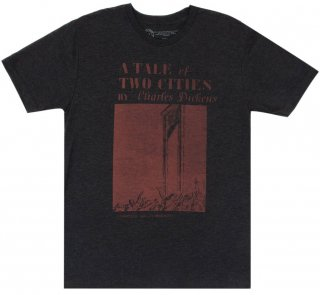 Charles Dickens / A Tale of Two Cities Tee (Vintage Black)
