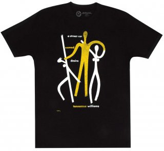 Tennessee Williams / A Streetcar Named Desire Tee (Black)