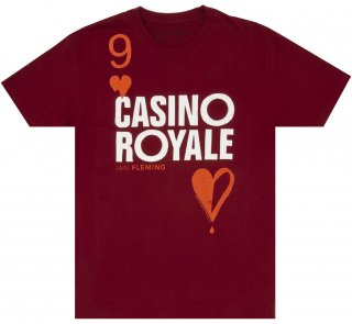 Ian Fleming / Casino Royale Tee (Cardinal Red)