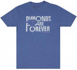 Ian Fleming / Diamonds Are Forever Tee (Vintage Royal)