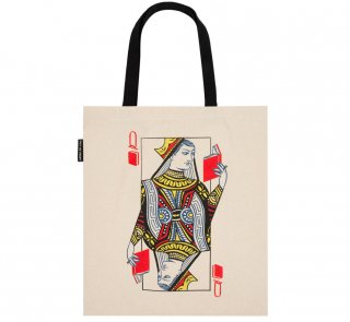 Queen of Books Tote Bag