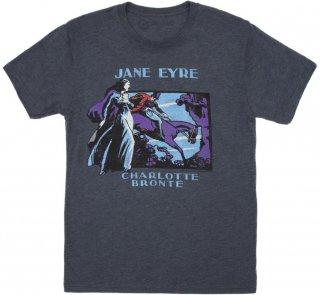 Charlotte Brontë / Jane Eyre Tee (Vintage Navy)