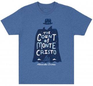 Alexandre Dumas / The Count of Monte Cristo Tee (Vintage Royal Blue)