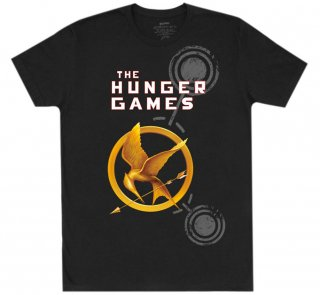 Suzanne Collins / The Hunger Games Tee (Black)