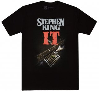 Stephen King / It Tee (Black)