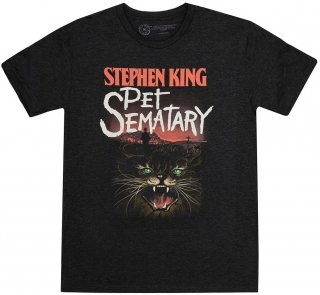 Stephen King / Pet Sematary Tee (Vintage Black)