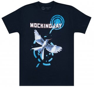 Suzanne Collins / Mockingjay Tee (Midnight Navy)