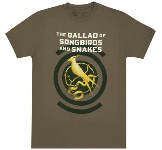 Suzanne Collins / The Ballad of Songbirds and Snakes Tee (Army Green)