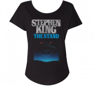 Stephen King / The Stand Womens Relaxed Fit Tee (Black)