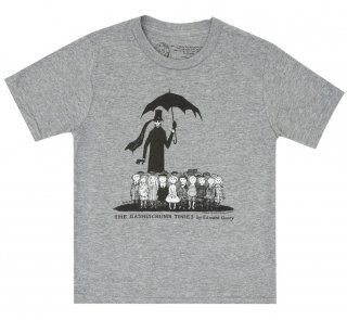 Edward Gorey / The Gashlycrumb Tinies Kids Tee (Heather Grey)