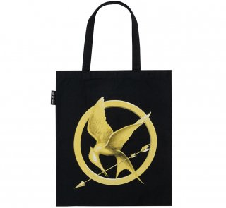 Suzanne Collins / The Hunger Games Tote Bag