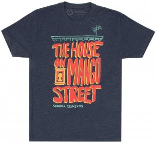 Sandra Cisneros / The House on Mango Street Tee (Navy Blue)