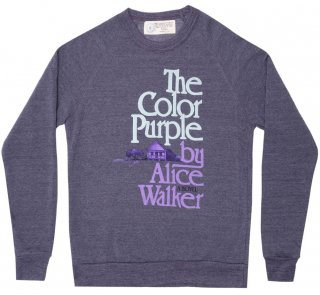 <img class='new_mark_img1' src='https://img.shop-pro.jp/img/new/icons14.gif' style='border:none;display:inline;margin:0px;padding:0px;width:auto;' />Alice Walker / The Color Purple Sweatshirt (Purple)