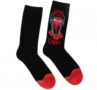 <img class='new_mark_img1' src='https://img.shop-pro.jp/img/new/icons14.gif' style='border:none;display:inline;margin:0px;padding:0px;width:auto;' />Stephen King / Carrie Socks