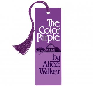 <img class='new_mark_img1' src='https://img.shop-pro.jp/img/new/icons14.gif' style='border:none;display:inline;margin:0px;padding:0px;width:auto;' />Alice Walker / The Color Purple Bookmark