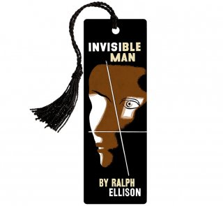 <img class='new_mark_img1' src='https://img.shop-pro.jp/img/new/icons14.gif' style='border:none;display:inline;margin:0px;padding:0px;width:auto;' />Ralph Ellison / Invisible Man Bookmark